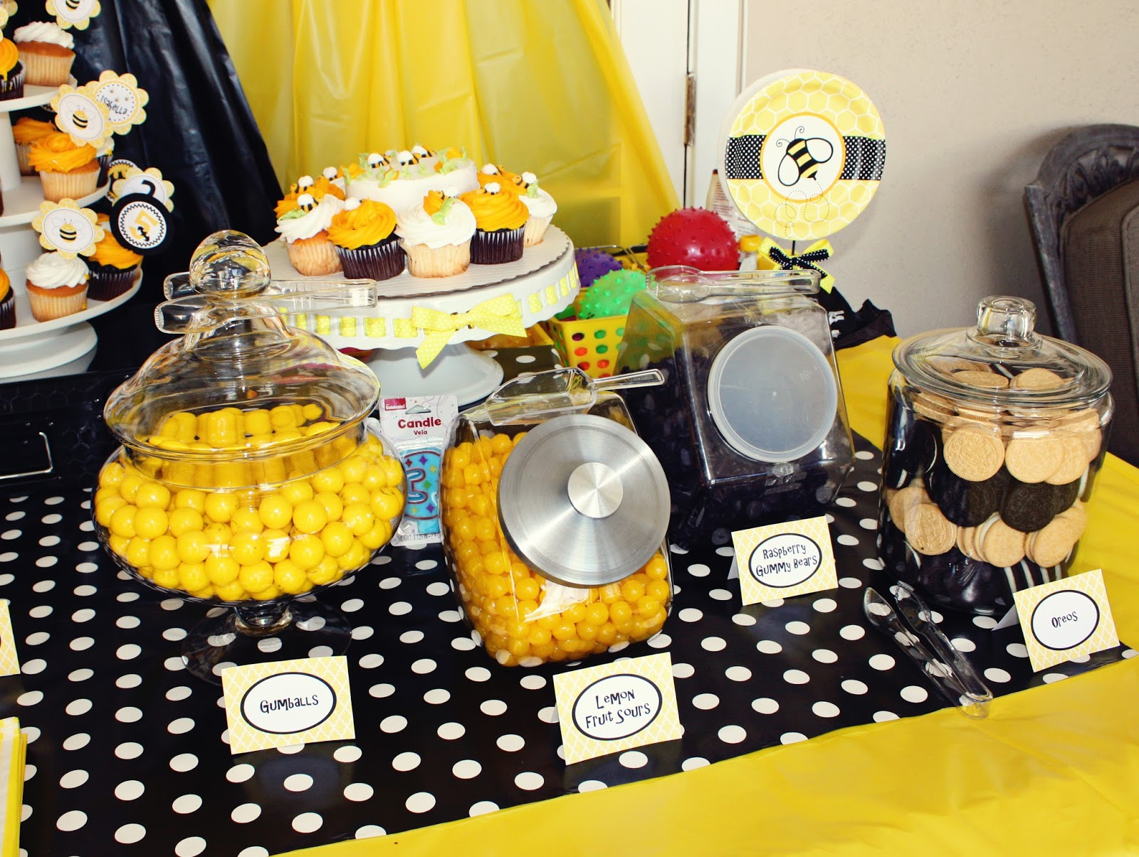 A Bumble Bee Batman Party