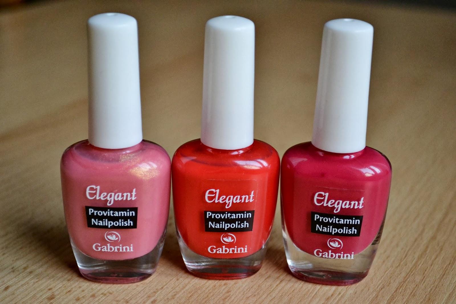 Elegant nail polish