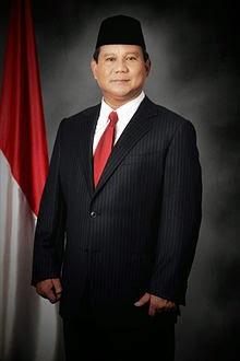 Profil Biodata Foto Prabowo Subianto