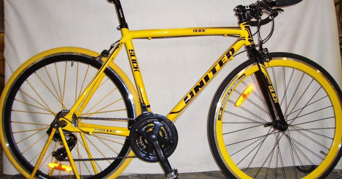 SEPEDA NUSANTARA: Sepeda Hibrid United Slick 7.1 Rangka