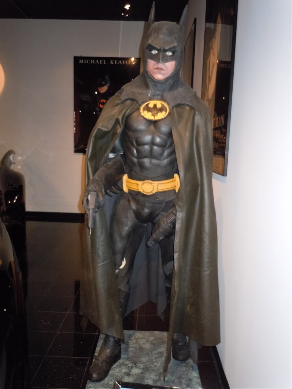 Michael Keaton Batman suit