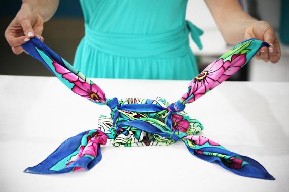 Aparador Mesa Dobravel ~ Blog Liah Conceiç u00e3o Como fazer uma bolsa com lenço