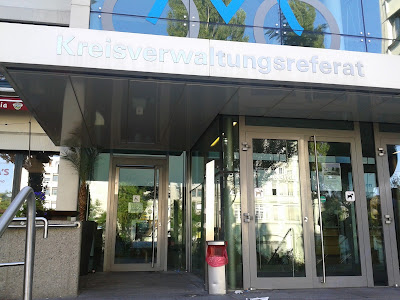 Haupteingang Kreisverwaltungsreferat München