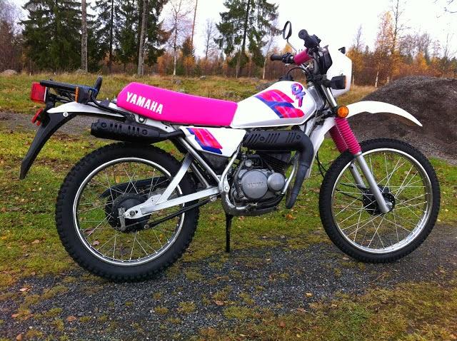 Yamaha DT50 Klassiker 1980-