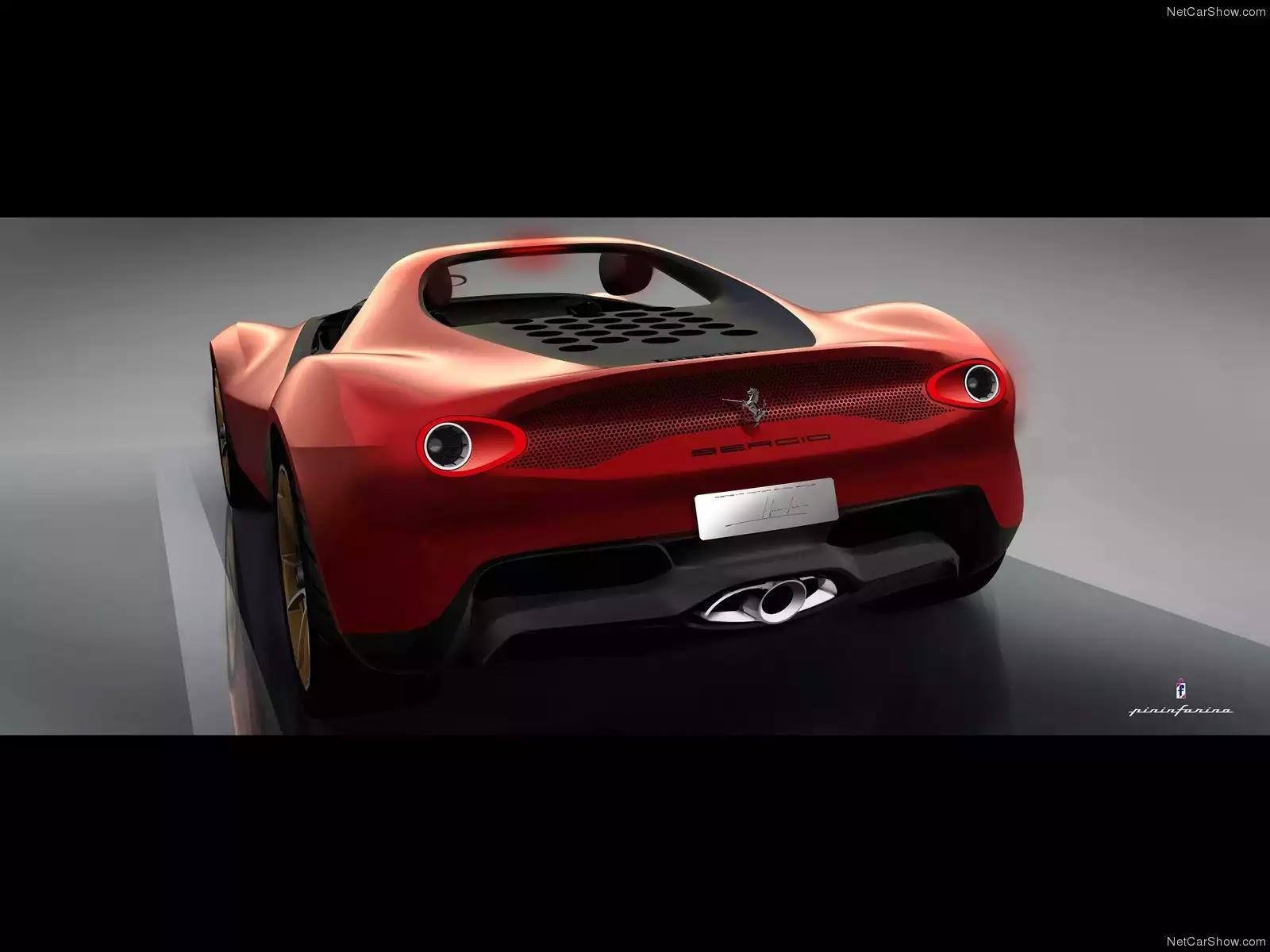 Hình ảnh siêu xe Ferrari Sergio Concept 2013 & nội ngoại thất