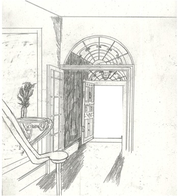 Open Closet Door Drawing brilliant door pencil drawing color of in santorini i decorating