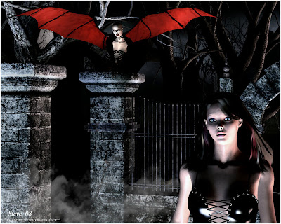a-new-vampire-walking-into-a-graveyard-gothic-wallpaper