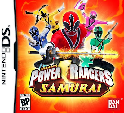 Power Rangers Samurai DS