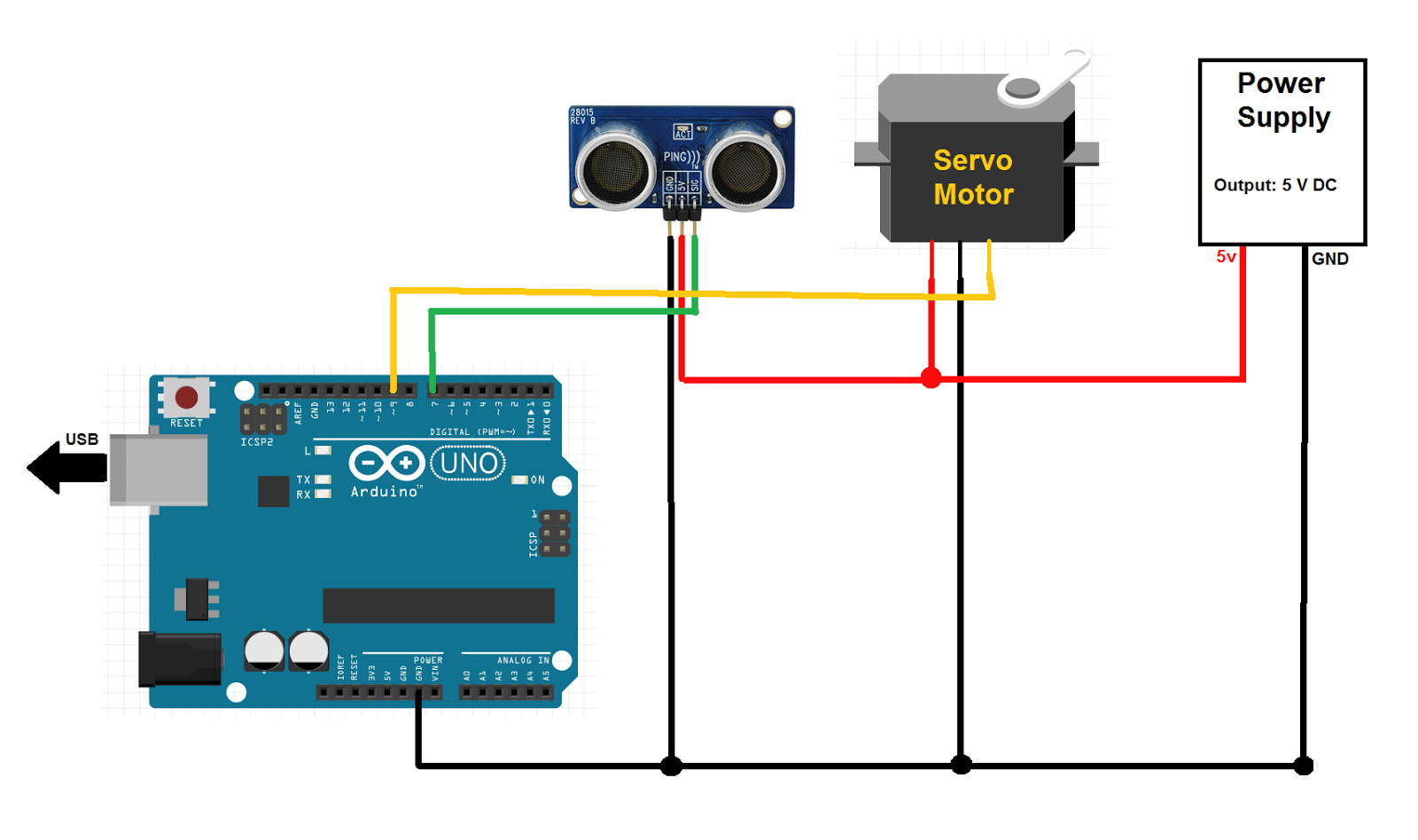 Linear actuator arduino system A simple way to