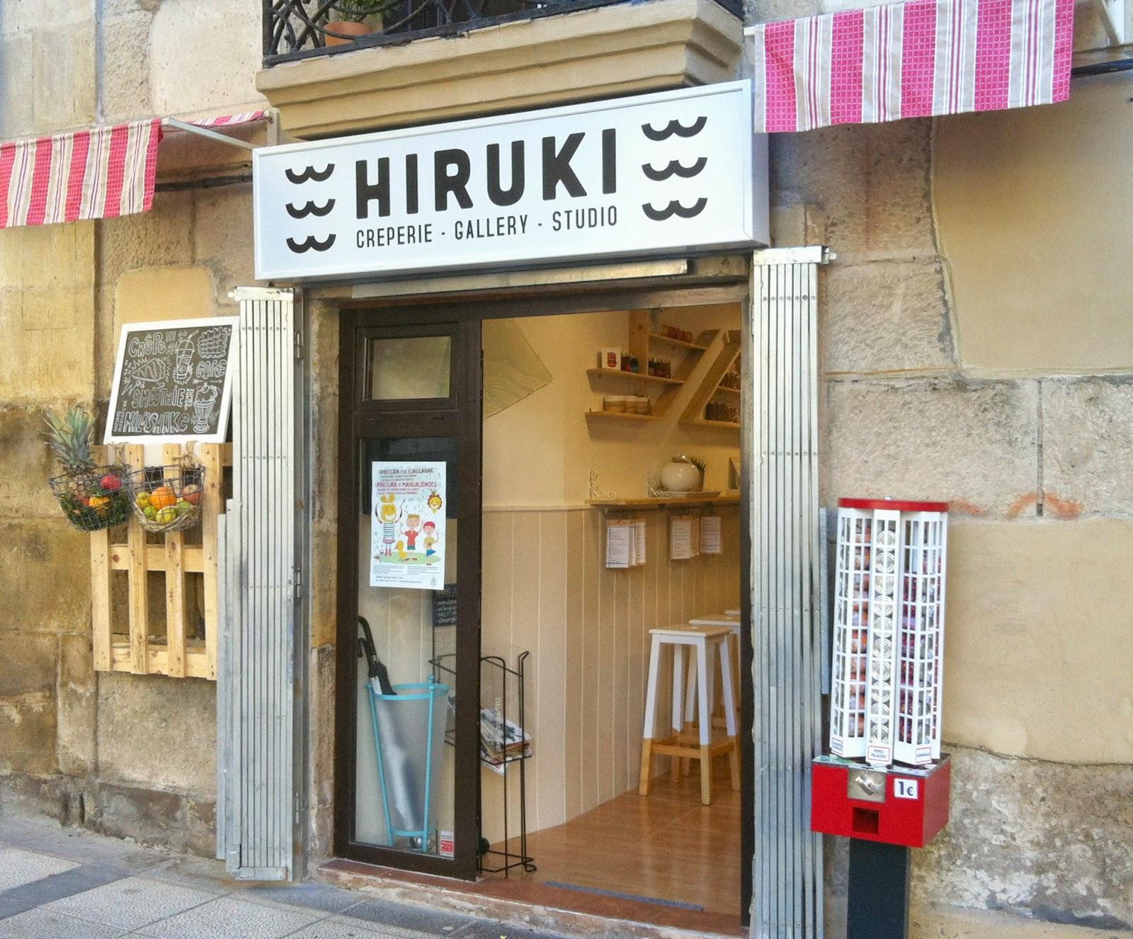 Hiruki, crepería en Irun