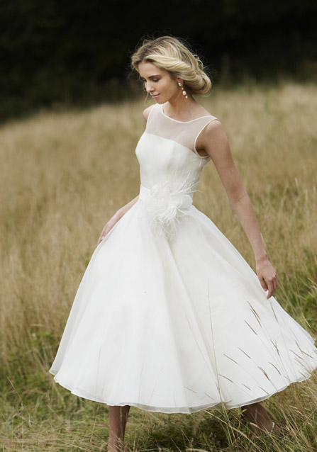 short wedding dresses for a spring wedding