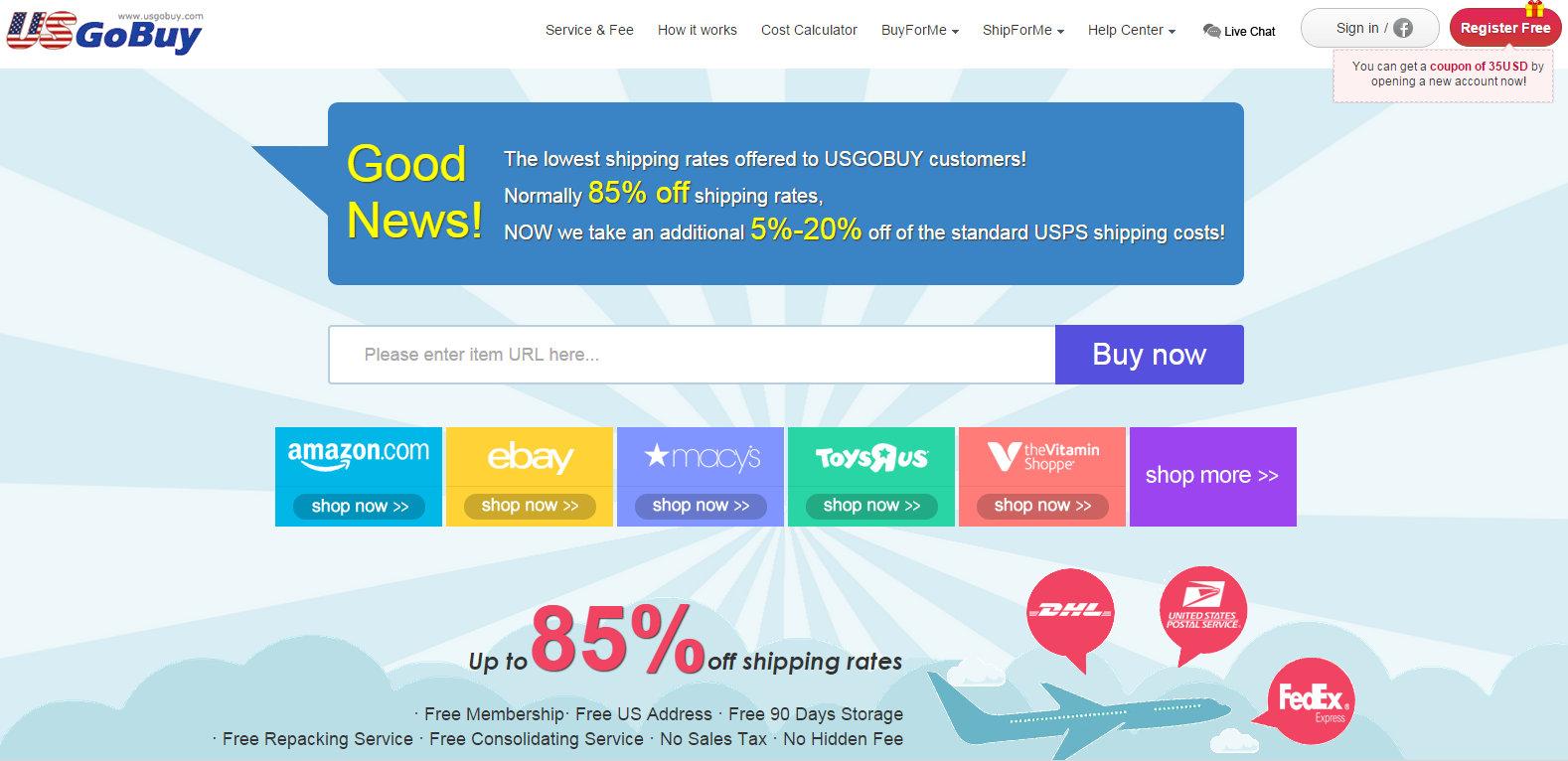 HM Online Shopping USA