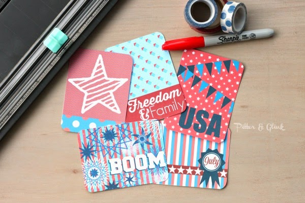 Free Printable 3x4 Patriotic Journal Cards from pitterandglink.com
