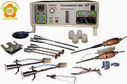 Лечение на аппарате Тонзиллор в Омске