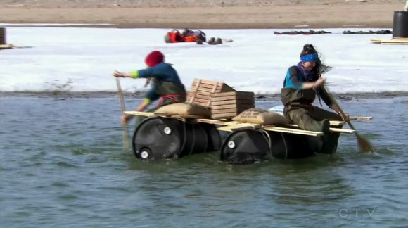 The racers embark on an epic trek across the mighty Canadian north