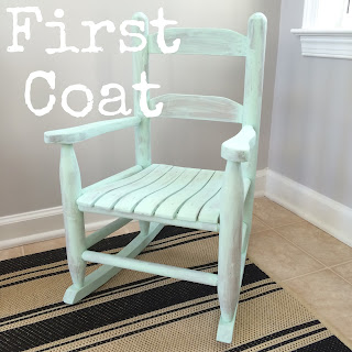 Rocking Chair Makeover Before & After