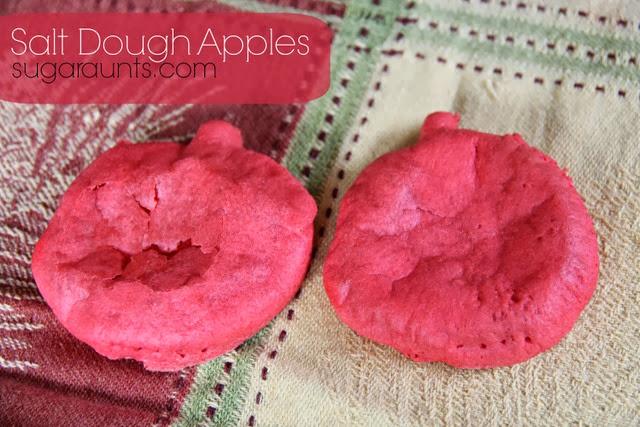 Salt Dough Apples