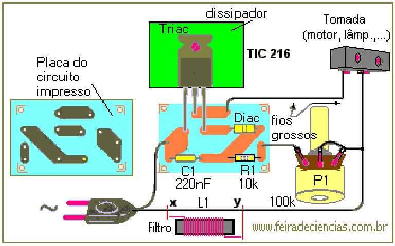 Conhecendo componentes eletronicos - Página 2 Triac+plaquinha