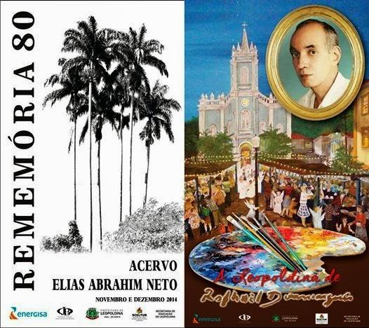 Exposição Rememória 80, de Elias Abrahim Neto