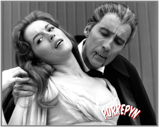 Christopher Lee e Barbara Shelley
