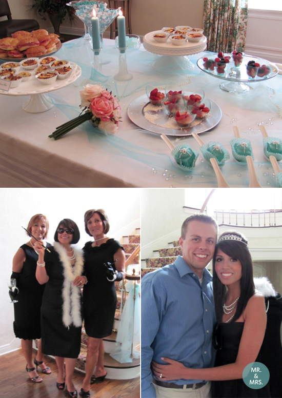 Breakfast at Tiffany 39s Bridal Shower