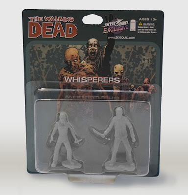 San Diego Comic-Con 2015 Exclusive The Walking Dead PVC Figure 2 Packs by October Toys - The Whisperers