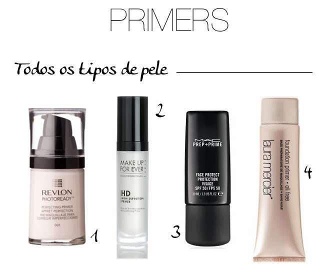 daniela pires, primers, revlon photoready, hd primer, mac face protect, laura mercier primer