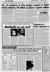 LA STAMPA 7 MARZO 1978
