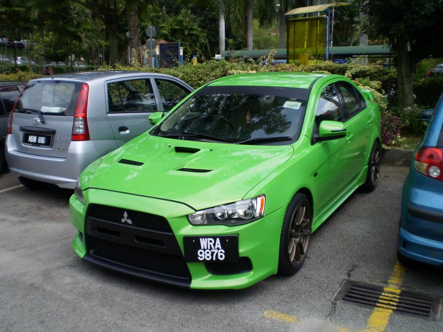 Modified Cars Mitsubishi Evo X Custom Body Kit