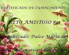 Certificado de Cumplimiento Reto Amistoso Nº 15...!!!