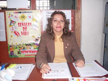 PSICÓLOGA - TERAPEUTA FAMILIAR DE LA I.E. JAVIER HERAUD: María Cecilia CASTRO SÁNCHEZ