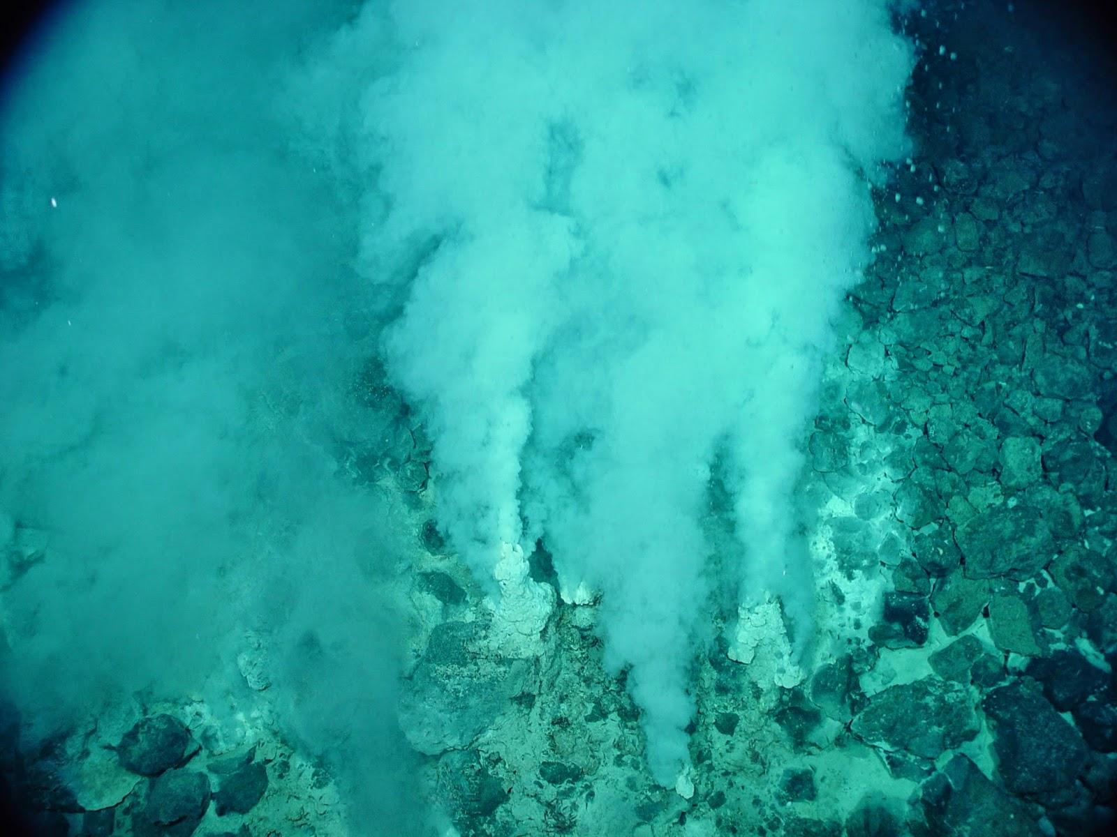 A origem da vida pode ser uma fonte hidrotermal?
