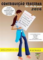 CONTRIBUIÇÃO FRATERNA 2014