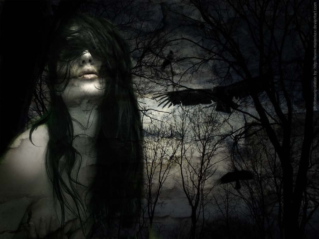 Strangely Beautiful Dark Art  The Roaming Gypsy Angel
