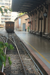 Old train station in Palma de Mallorca