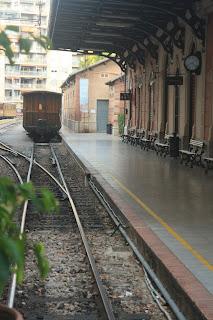 Old train station in Palma de Mallorca