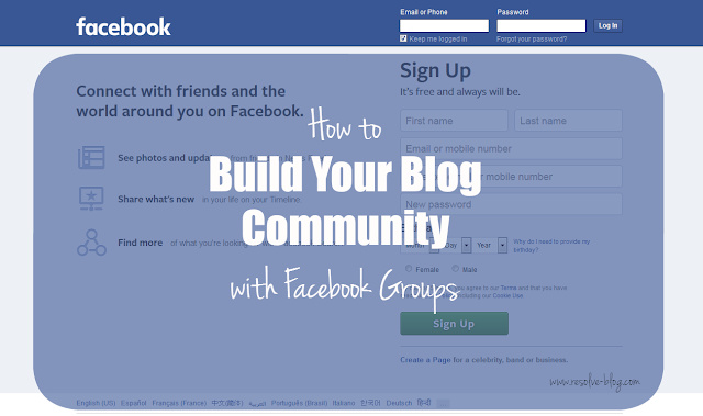 Why bloggers need Facebook communities
