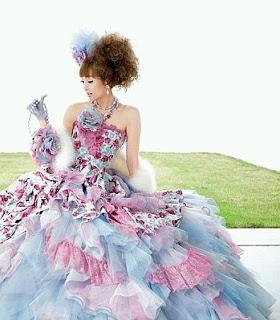 Vestidos de Novia Coloridos, parte 1