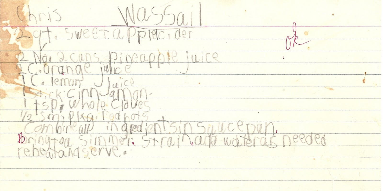 Wassail. Spiked. Or not. Your choice. | Boulder Locavore