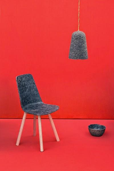 Muebles y Accesorios en Pasta de Corcho