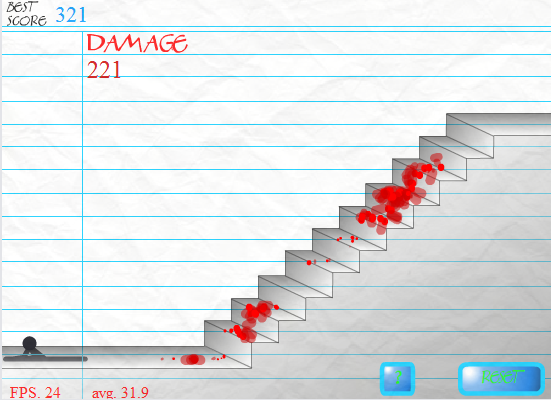 Stair fall pc online browser game review