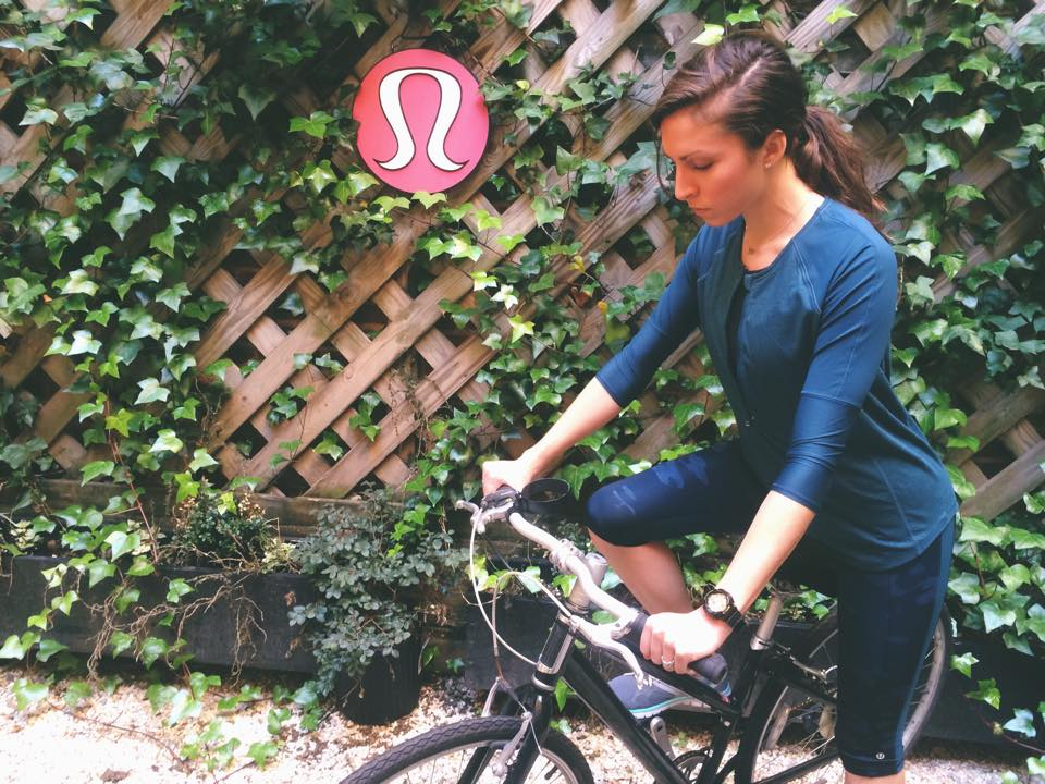 lululemon clip in ls crop