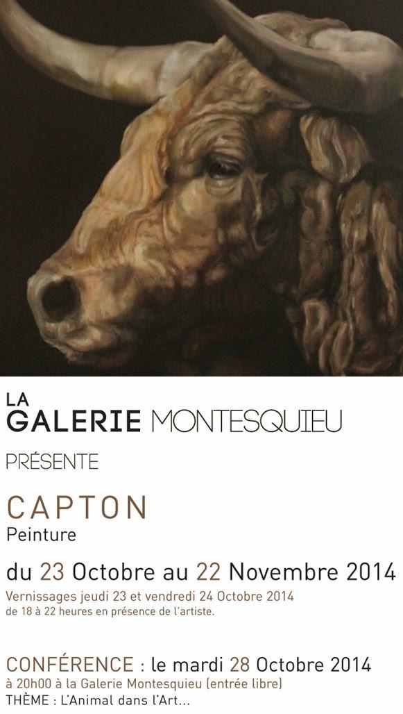 EXPOSITION PERSONNELLE À LA GALERIE MONTESQUIEU À NANTES