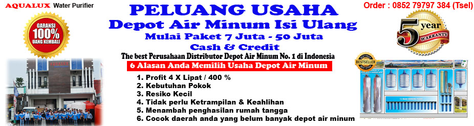 Depot Air Minum Isi Ulang Aqualux Klaten