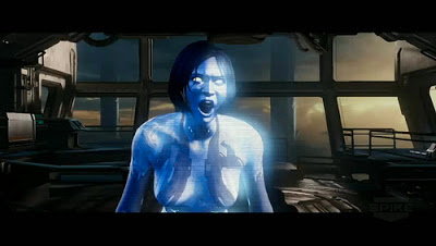 Through the game cortana will snap into these rage fits and scream at