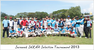 Kejohanan Sofbol Pemilihan SUKMA Sarawak 2013 di Miri