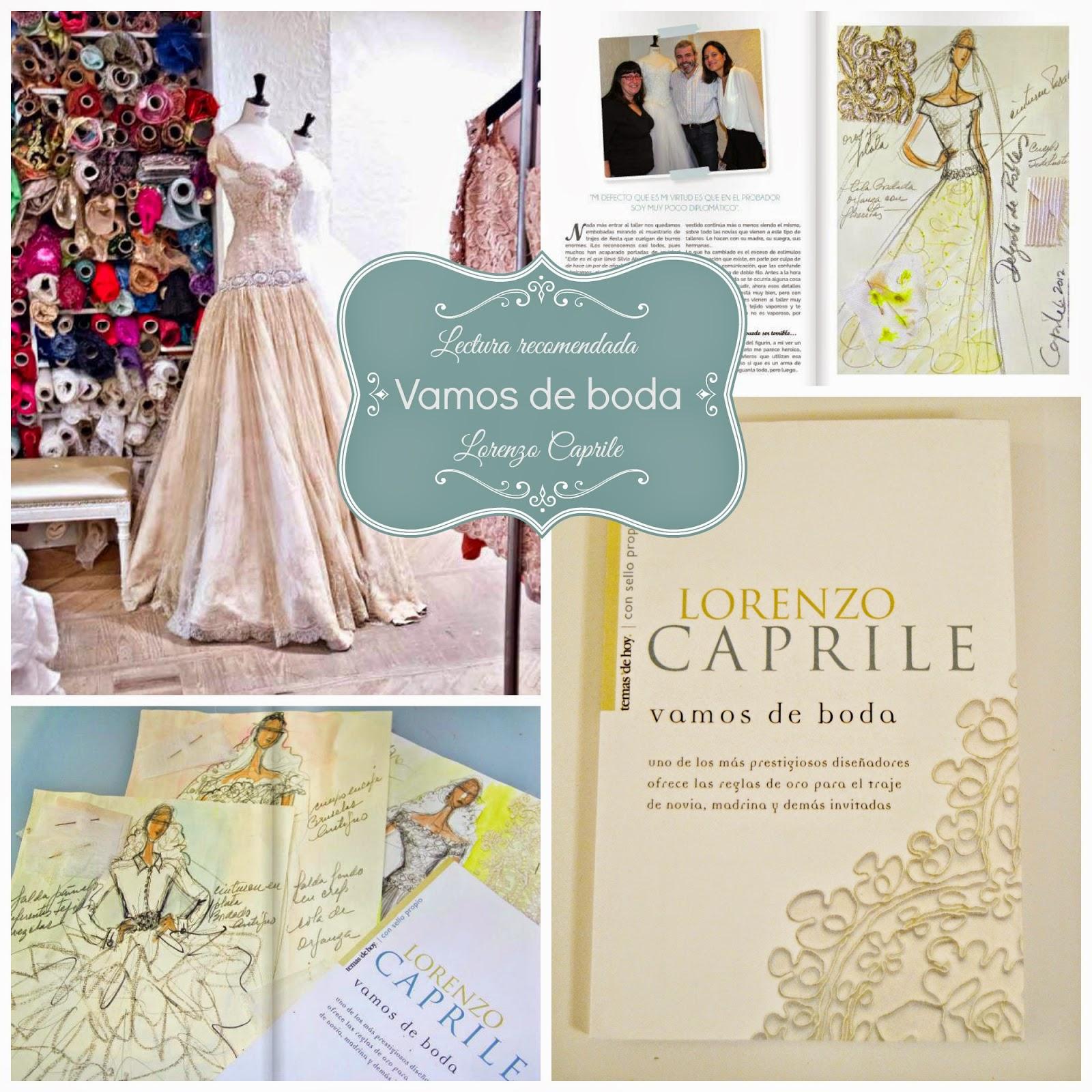 atelier lorenzo caprile libro vamos de boda blog bodas mi boda gratis