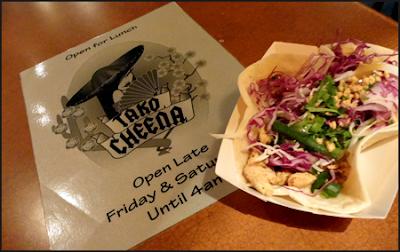 Tacos at Tako Cheena