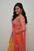 sri mukhi glam pix in half saree-thumbnail-10