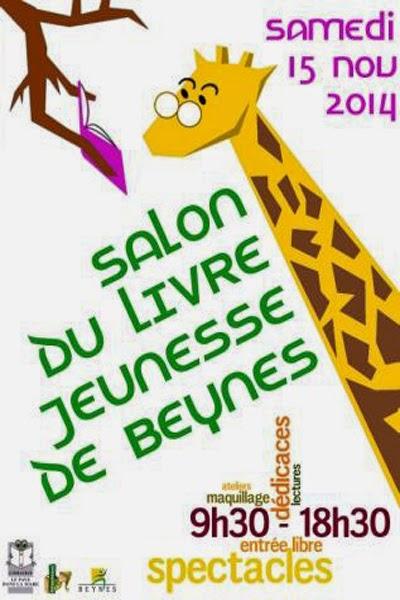Salon du livre jeunesse de Beynes : + d'infos